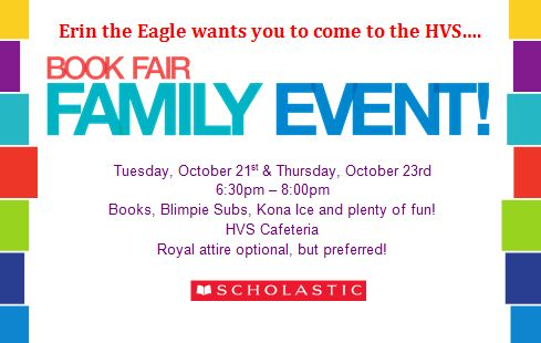 Book Fair Family Night Revised