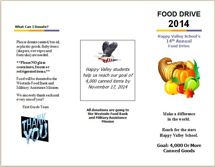 Food Donation Pg 1
