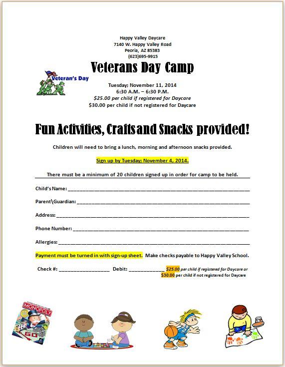 Veterans Camp 2014